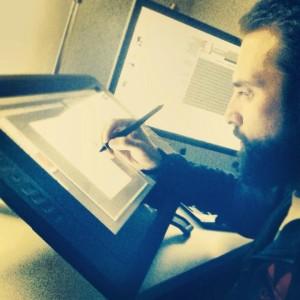 Agu Méndez, ilustrador.