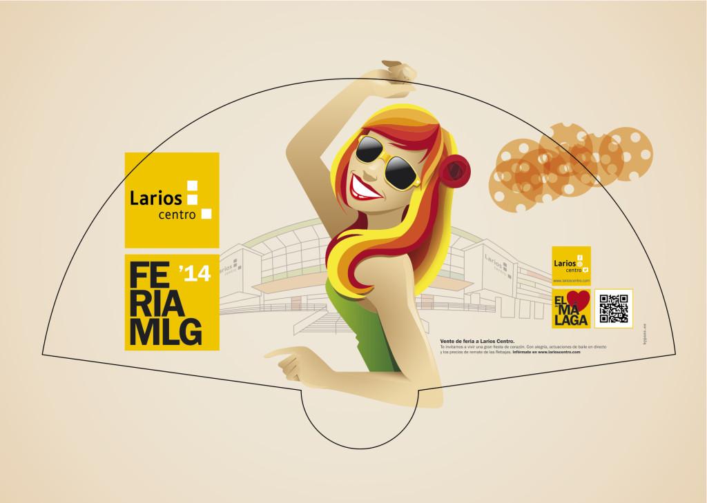 Feria Málaga 2014 Larios Centro Miguel Levia