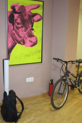 Biciparking en la oficina